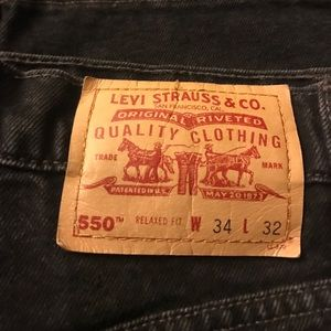 Vintage Levi's 550 High Waisted Mom Jean Sz. 34